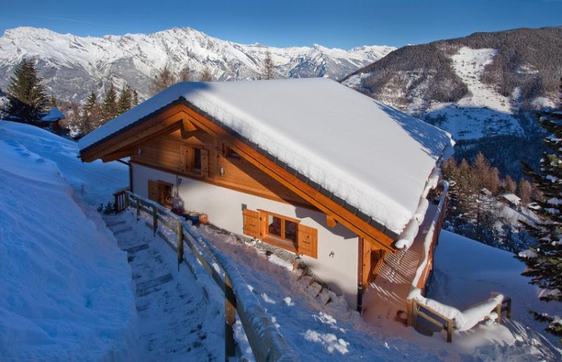 Winter wonderland - Stunning new 5 bedroom ski chalet - La Tzoumaz - rentals
