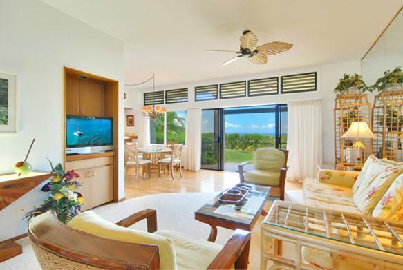 Living room - Aloha Koa Ocean View Condo at The Ridge - Lahaina - rentals