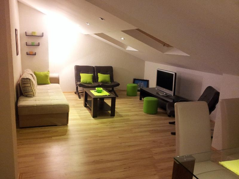 Living room - Lux 5' Walk from Old Town And Beaches - Budva - rentals