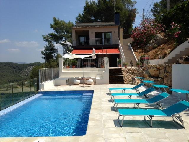 Overview - Villa Mur-an Oasis of Elegance & Calm near Sitges - Olivella - rentals