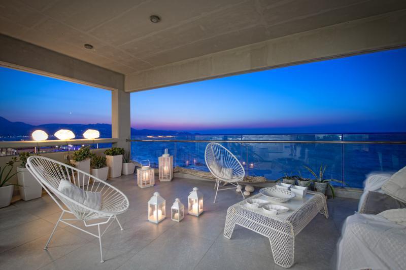 balcony - Luxury Apartment in Heraklion - Heraklion - rentals