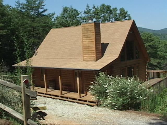 Cabin exterior - North Georgia Mountain Cabin with View - Sautee Nacoochee - rentals