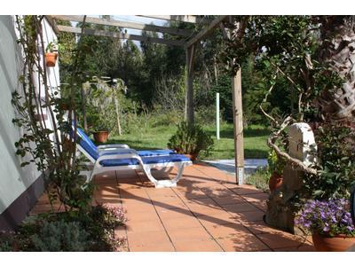 Private terrace and garden - Casa da Palmeira Cottage near beach West Coast of Portugal, Zambujeira do Mar holiday cottage - Zambujeira do Mar - rentals