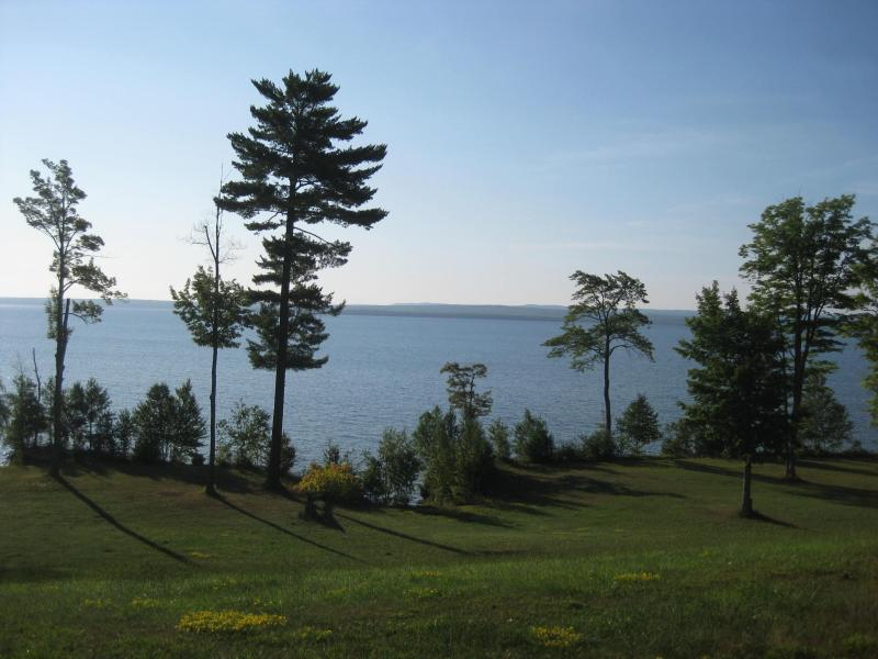 View from the house - LaRose Wellness Retreat-Red Rock Room - Baraga - rentals