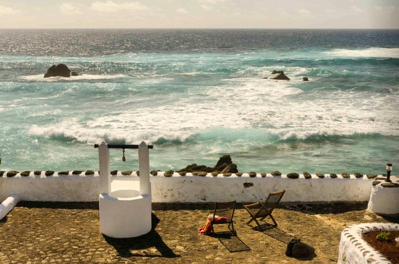 Terrace View overlooking the sea - Caleton Del Golfo Apartment Superior - Canary Islands - rentals