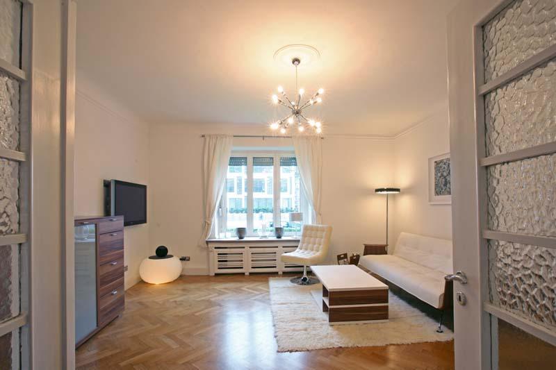 Designer Living room - First Class Fair Apartment in Düsseldorf, 80 qm - Düsseldorf - rentals