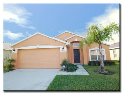 Front Of House - Luxury 5 Bed/3Bath Villa, South Facing Pool & Spa - Davenport - rentals