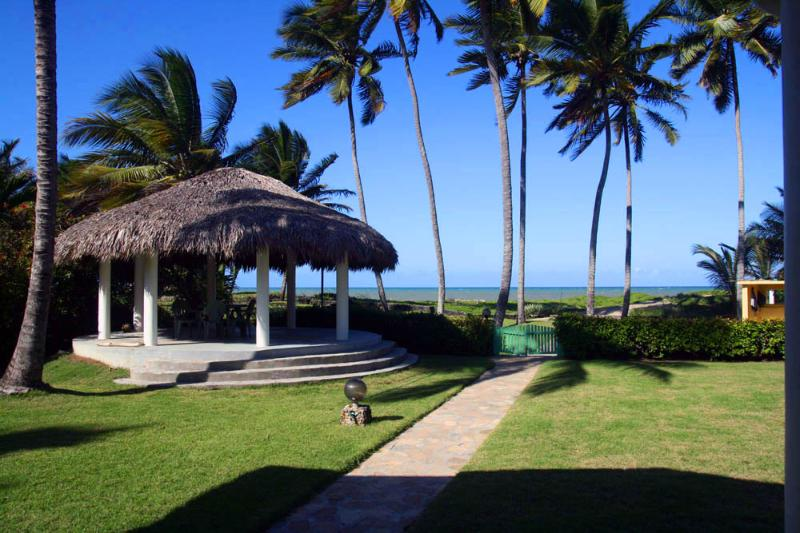 gazebo - Villa with splendid ocean view near Cabarete - Cabarete - rentals