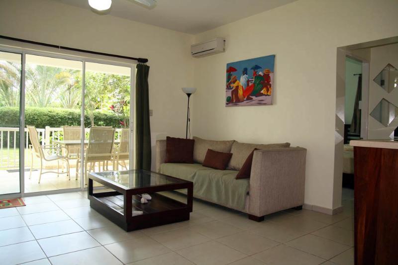 living room - Ground floor 1bdr apartment near Cabarete - Cabarete - rentals