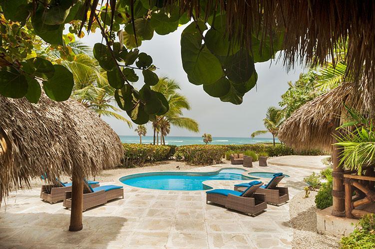 POOL - 3 Bedroom Ocean Front Villa at Cap Cana - Punta Cana - rentals