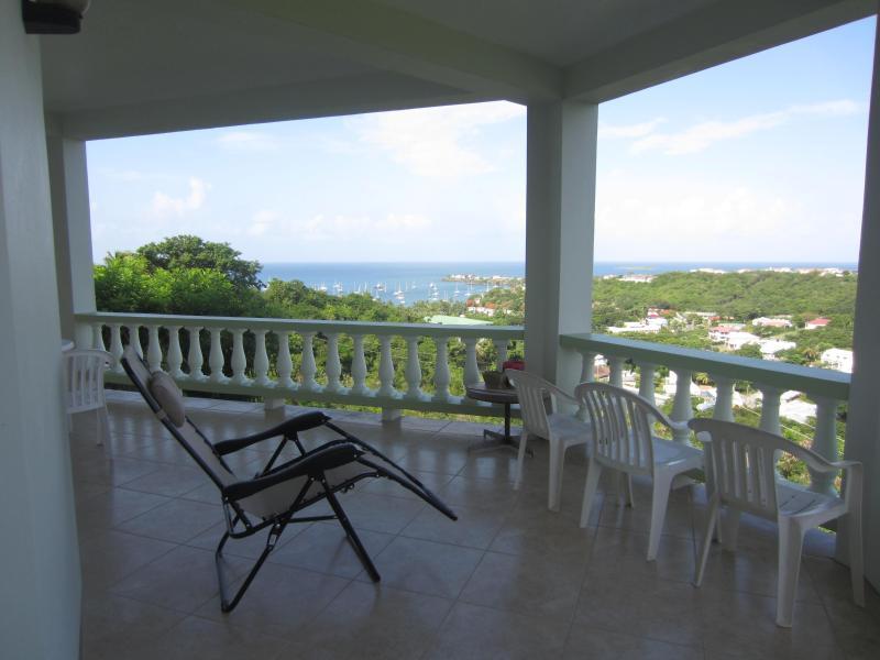 Southern View from Main Verandah - Caribbean Getaway Rental @Rockhaven - Grenada - rentals
