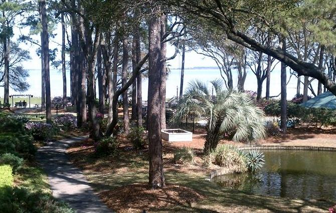 Actual view....no zoom lens. - Beautiful View only Steps to the Beach! - Hilton Head - rentals