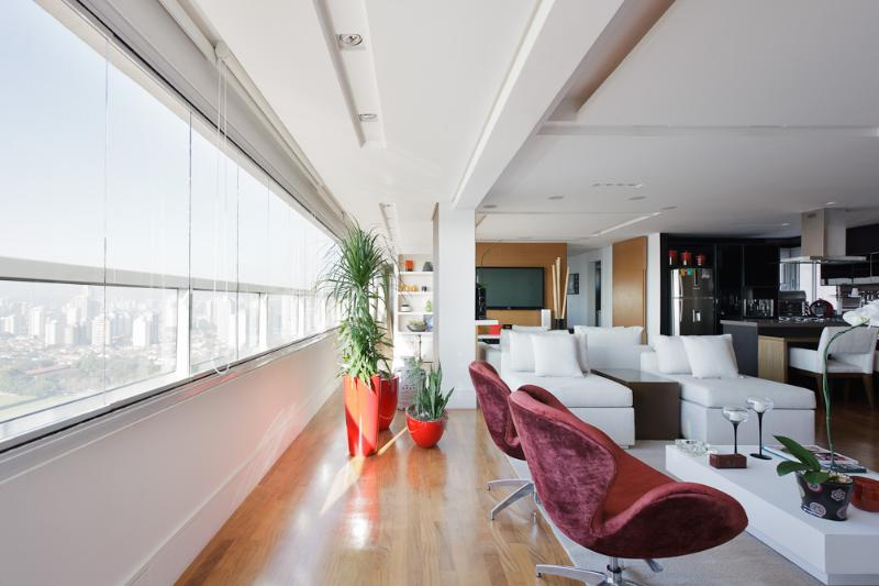 Upscale 1 Bedroom Apartment in Brooklin - Image 1 - Santo Andre - rentals