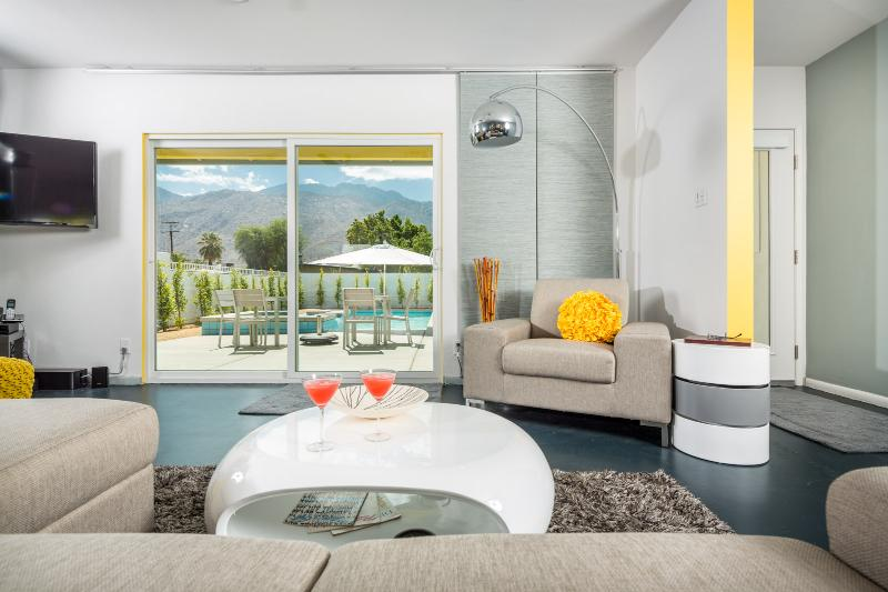 Living Room with a view - Chrysalis: Restore, Renew, Refresh - Palm Springs - rentals