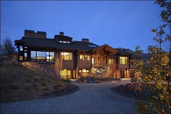 Stunning Property Includes a Private, Gated Drive - Opulent Hilltop Home - 360-Degree Mountain Views (1234) - Sun Valley - rentals