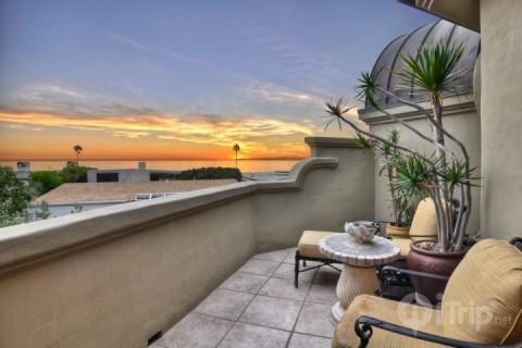Ocean View Balcony - Luxury Estate with Sunset Views - San Clemente - rentals