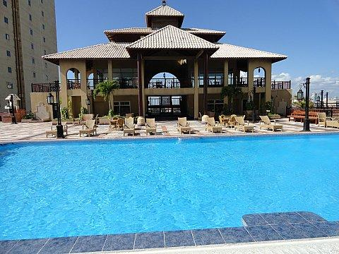 pool area - RentSantoDomingo  holidays/job furnished 14 floor - Santo Domingo - rentals