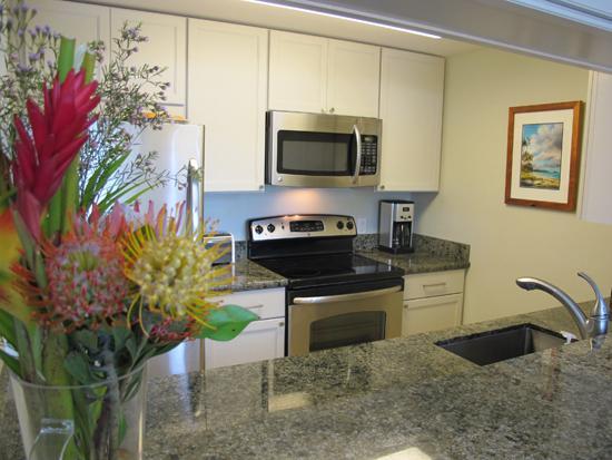 Beautiful Kitchen Remodel - Kihei Garden Estates C207, Ocean Vw Updated Beauty - Kihei - rentals
