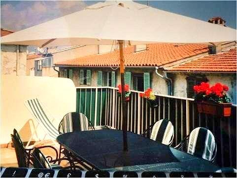 Roof Terrace - Antibes 3 Bedrooms with the Sunniest Roof Terrace in Old Town - Antibes - rentals