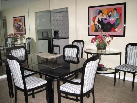 Dining Area - Gulfside Mid-Rise Unit 706D - Sarasota - rentals