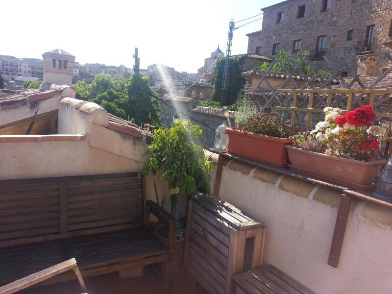 Views from the terrace - Beautiful Apartment in the Historic casco - Toledo - rentals