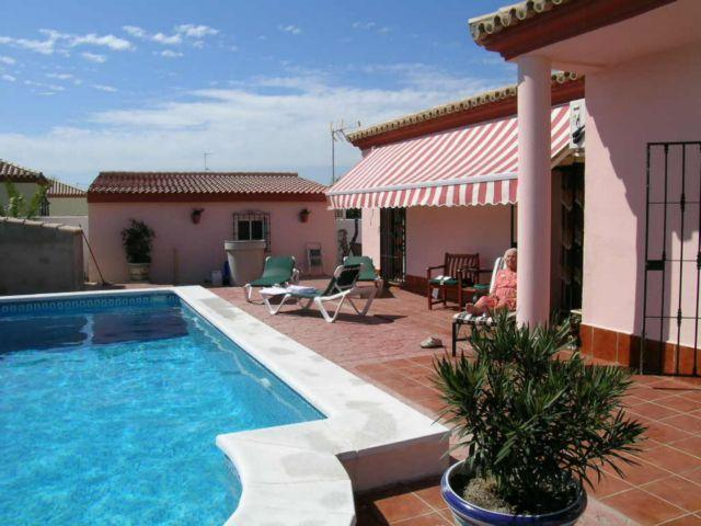 Pool area - Villa on Costa de Luz, Andalucia, Spain with pool - Chiclana de la Frontera - rentals