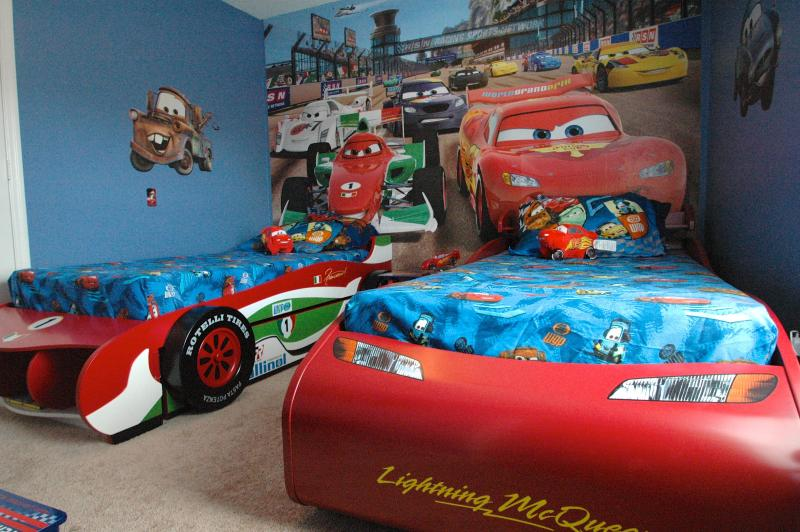 Cars Themed twin guest room (with trundle bed) - Disney Oasis Villa at Windsor Palms Resort - Kissimmee - rentals