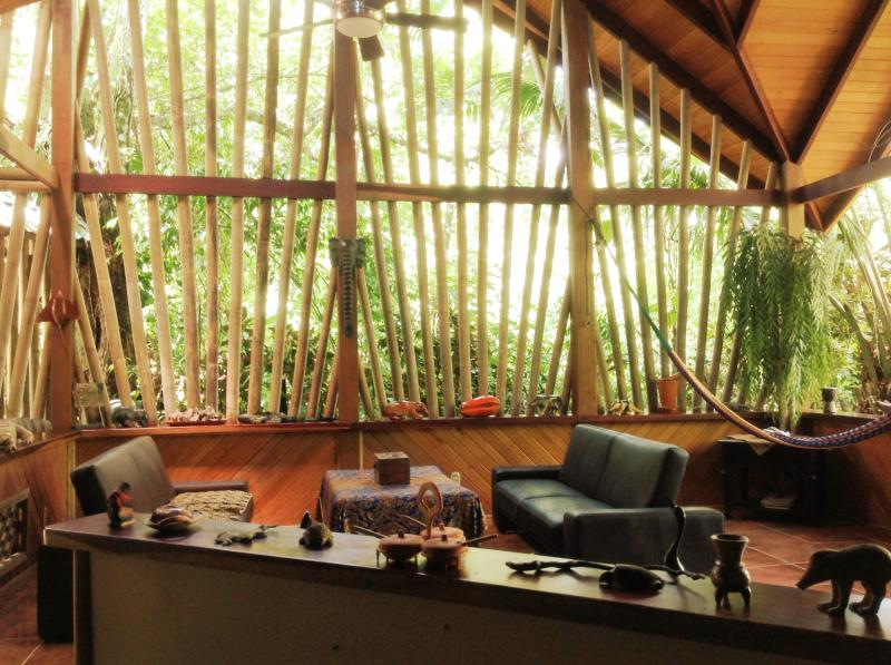 the main lounge - Casa Manglar, Puerto Jimenez, OSA Peninsula - Puerto Jimenez - rentals