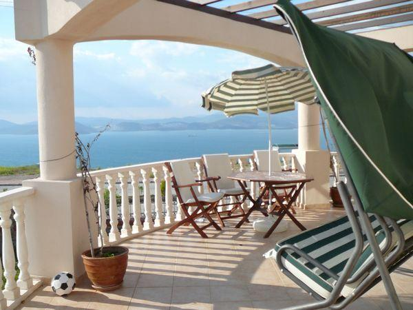 Balcony - Luxury 2 bedroom apartment near Bodrum in Turkey - Bodrum - rentals