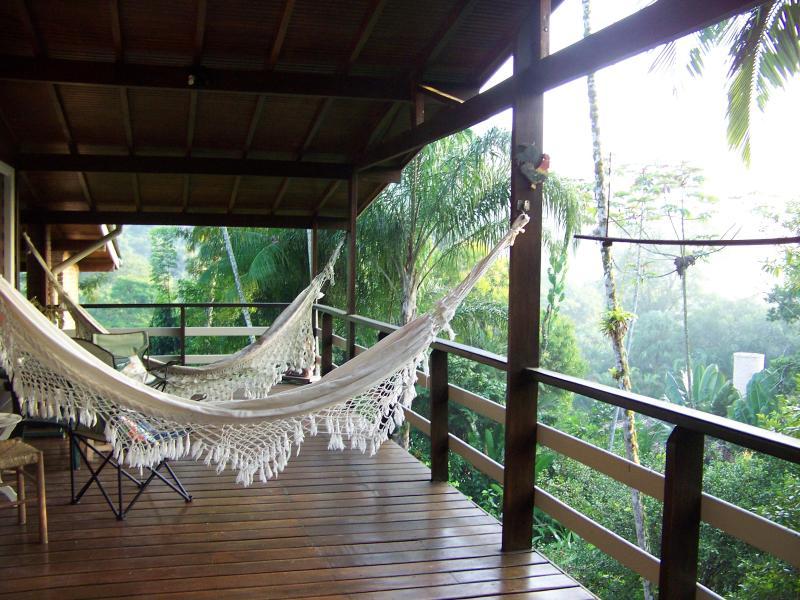 upstairs terrace - Secluded Beach - Ubatuba - rentals