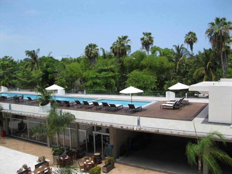 Pool view from window - Nuevo Vallarta 2Bed 1Bath Condominium! - Nuevo Vallarta - rentals