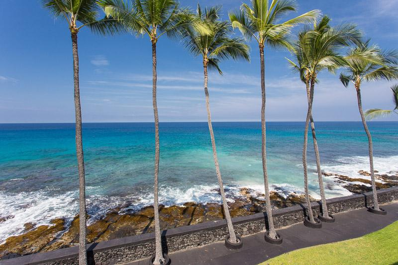 View from the condo - ABSOLUTELY OCEANFRONT KONA MAGIC SANDS - Kailua-Kona - rentals