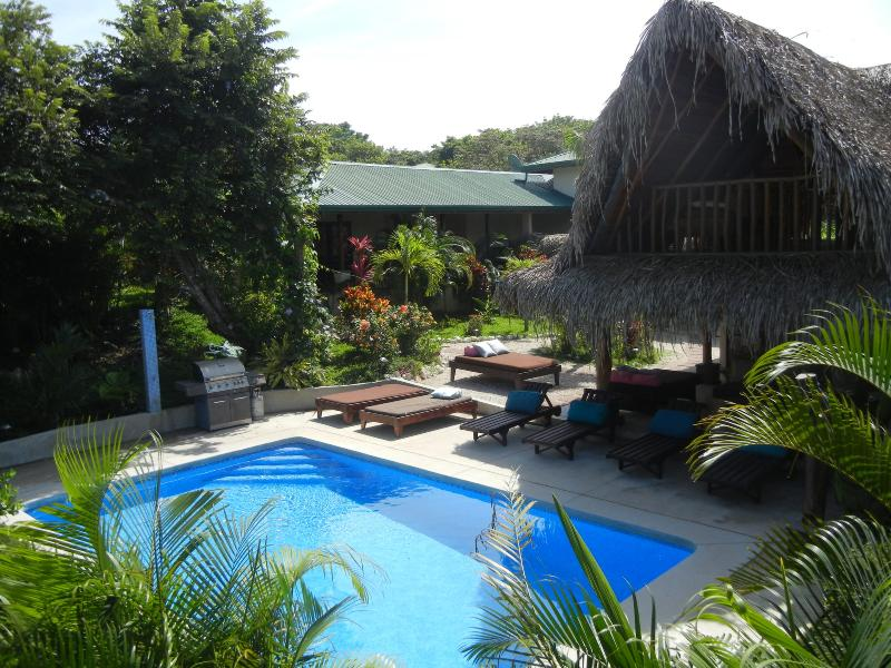 Rancho Paloma Azul, home and private outdoor 12' x 22' pool and courtyard - Rancho Paloma Azul  Fab home 4 min walk from beach - Guanacaste - rentals