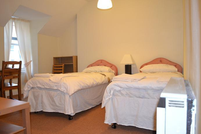 two single beds in living room - Nicolson Apartment in Old Town, - Edinburgh - rentals