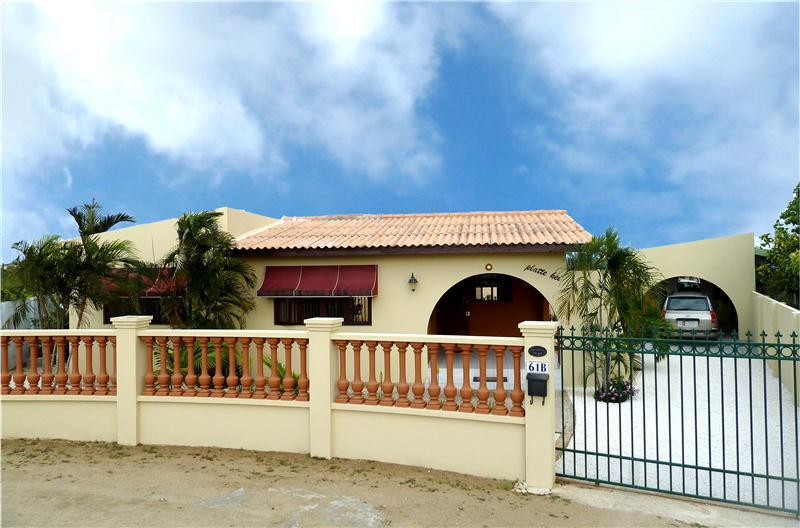 Front of the house - Beautiful vacation home at Piedra Plat - Aruba - rentals