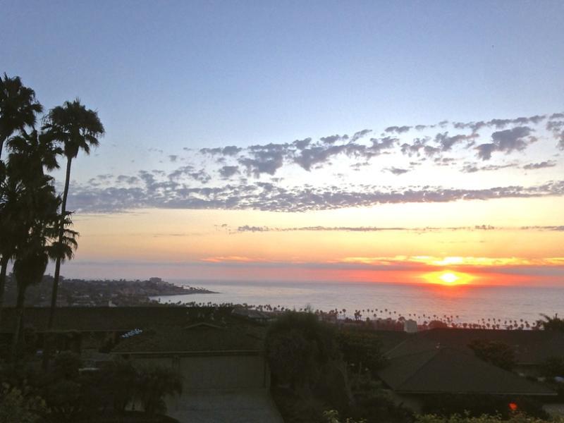 Sunset views. - La Jolla Shores, Ocean Views, Pool, Spacious Home. - La Jolla - rentals