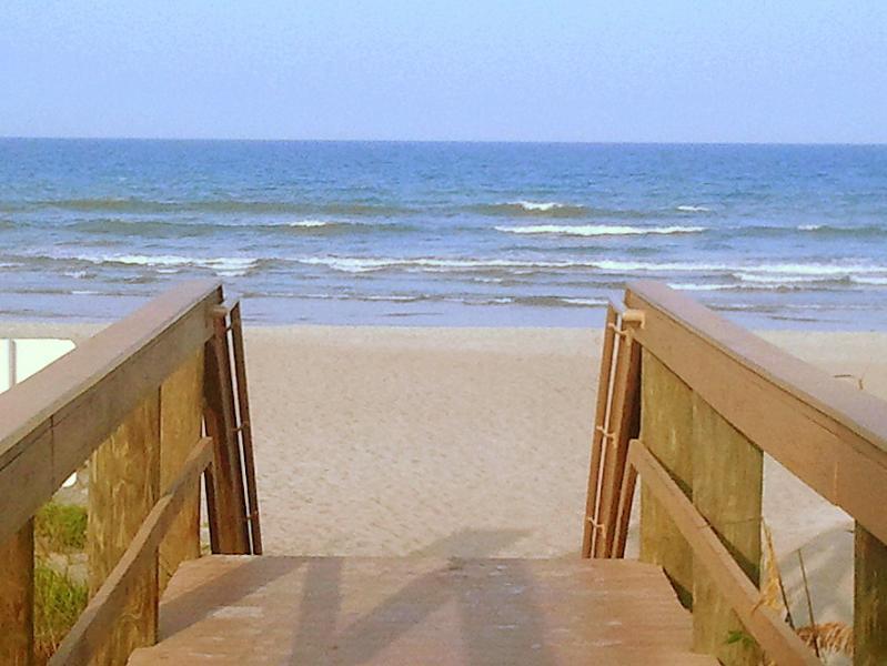 Beach access at the complex - Updated Condo in Beachfront Complex - Cocoa Beach - rentals