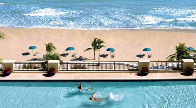 Newly Renovated Pool Deck - Oceanfront Suite in Luxury 5 Star Hotel - Fort Lauderdale - rentals