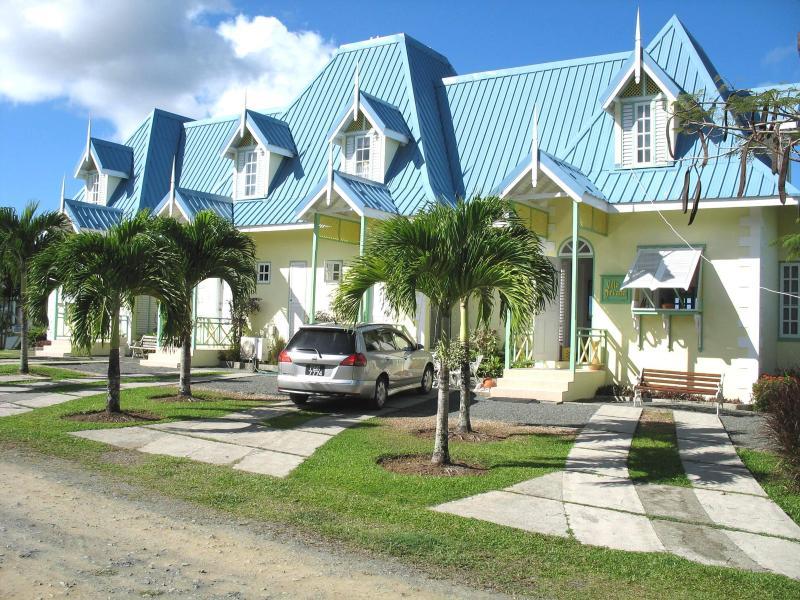 Entrance to Villa Nirvana - Tobago three bedroom Villa with panoramic seaview - Tobago - rentals