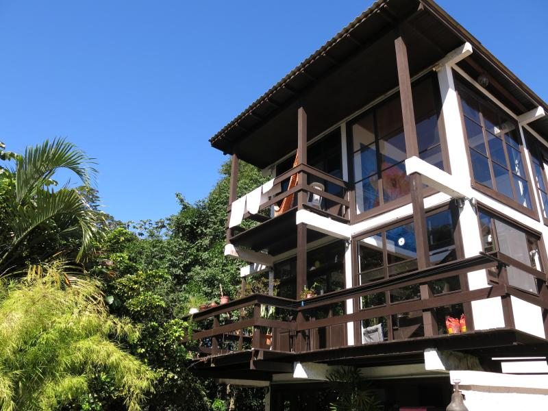 The apartment occupies the top two floors of the house - Charming gay-friendly home with jungle views - Florianopolis - rentals