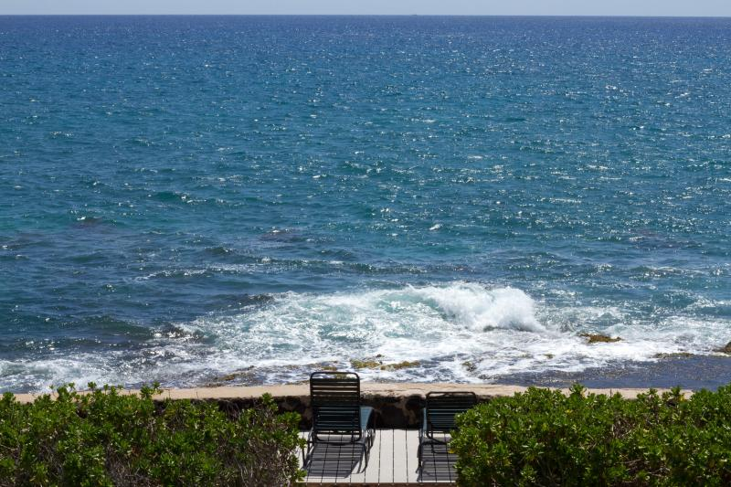 Any closer and you will get wet! - Oceanfront 3 BR/2 BA House ~ Best Oceanfront Value - Makaha - rentals