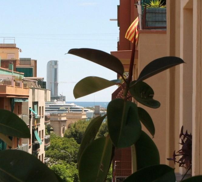 Hotel W and harbour view - STYLE- City center Apartment, free internet and wifi, parking - Barcelona - rentals