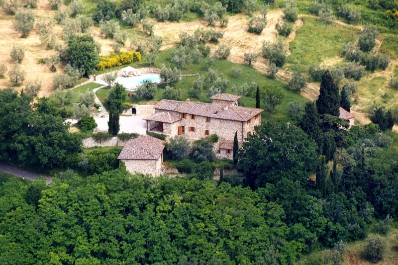Tuscany Villa on a Hill Close to Florence - Villa Niccolo - Image 1 - Montefiridolfi - rentals