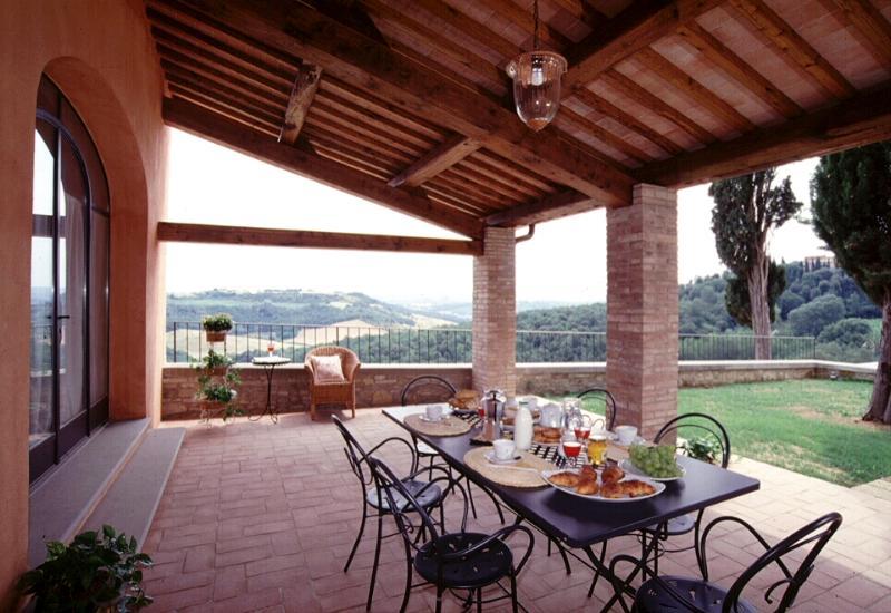 Apartment Rental in Tuscany, San Gimignano - Il Cortile del Borgo 14 - Image 1 - San Gimignano - rentals