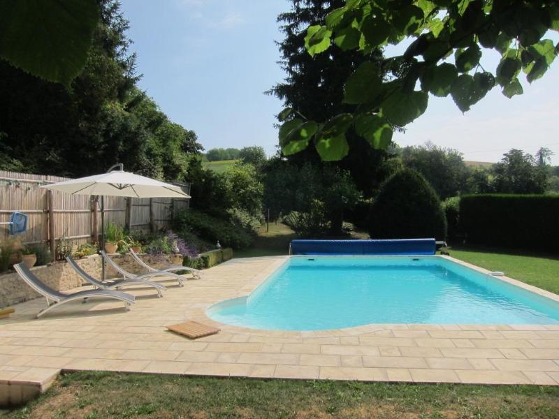 Swiming pool view - Chez Gigi & Lolo - Perigueux - rentals