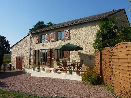 L'Hirondelle Gite & terrace - Rural stone built holiday gite - Haute-Vienne - rentals