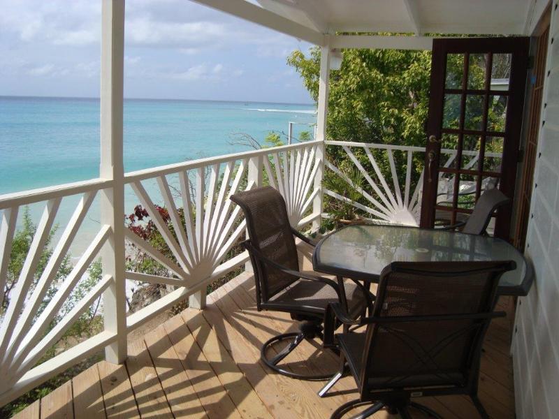 Plombagine Cottage- Ocean Front 2 Bdrm w/ AC & WIFI - Image 1 - Saint James - rentals