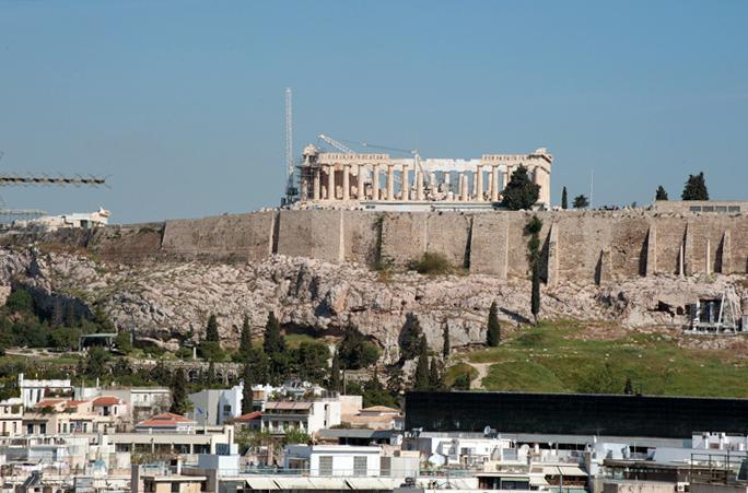 Stylish Apartment w/Acropolis Views - Image 1 - Athens - rentals