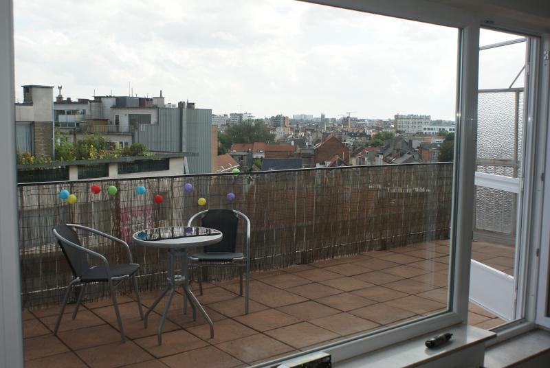 Terrace and view - Sunny Penthouse in center of Antwerp - Antwerpen - rentals