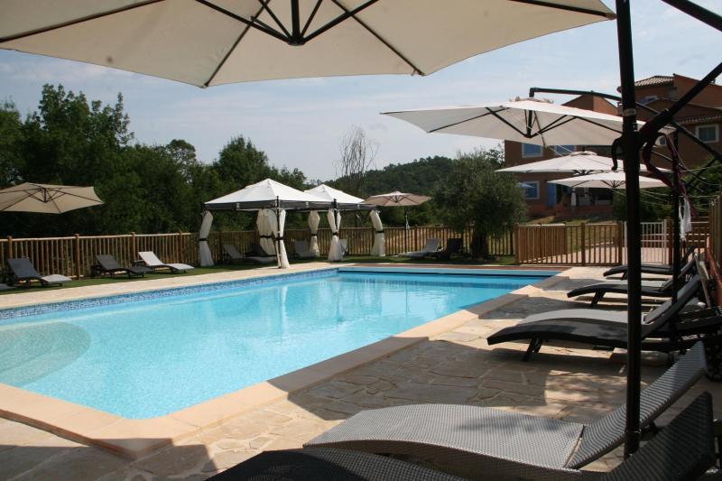The pool - Gite du Laurier, Charming 1 Bedroom Cottage in Brignoles - Brignoles - rentals